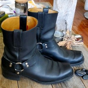 Bootmaster leather motorcycle boots, 12
